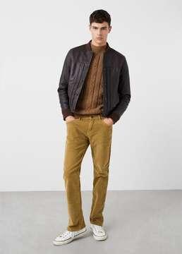 Mango Outlet Slim-fit 5 pocket corduroy trousers