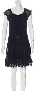 ALICE by Temperley Sleeveless Ruffle-Trimmed Dress w/ Tags