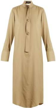 Joseph Harold tie-waist silk-blend shirtdress