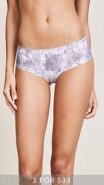 Calvin Klein Underwear Printed Invisibles Hipster Briefs
