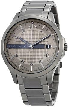 Armani Exchange light Grey Dial Men's Watch