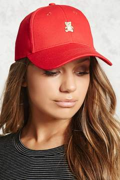 Forever 21 Embroidered Teddy Bear Dad Cap
