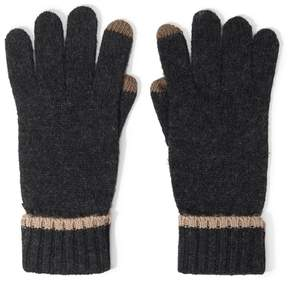 Forever 21 Marled Knit Texting Gloves