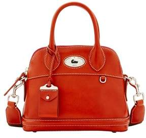 Dooney & Bourke Florentine Toscana Small Domed Satchel. - RED - STYLE