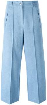 Barbara Bui wide-legged cropped jeans