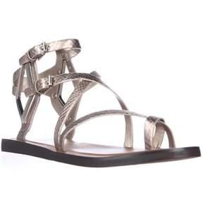 Dolce Vita Ferrah Gladiator Sandals, Light Gold Snake.