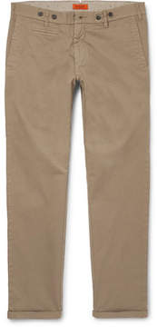 Barena Rampin Stino Stretch-Cotton Twill Trousers