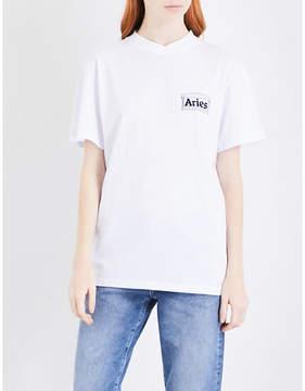 Aries Credit Card cotton T-shirt