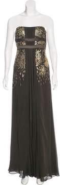 Escada Embellished Silk Dress