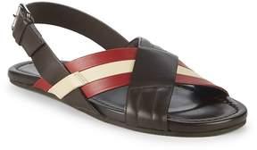 Bally Men's Verlon Leather Slingback Sandals