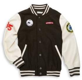 Stella McCartney Boy's Patched Varsity Jacket