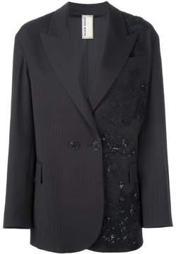 Antonio Marras patched lace blazer