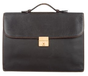 Bottega Veneta Textured Leather Briefcase