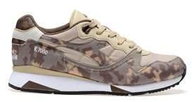 Diadora Heritage Men's Multicolor Leather Sneakers.