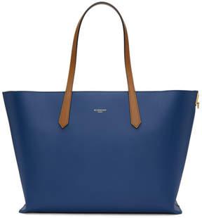 Givenchy Blue GV Shopper Tote