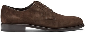 Tod's Lace-up suede derby shoes