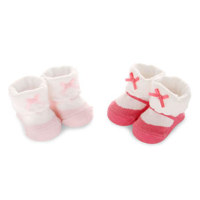 Carter's 2 pk. Infant Girls Booties