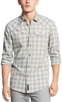 Calvin Klein Jeans Calvin Klein CK Modern Fit Shirt X-Large Sterling Gray Heather Plaid