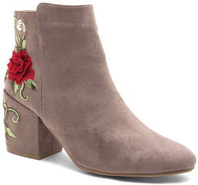 Qupid Taupe Teagan Bootie - Women