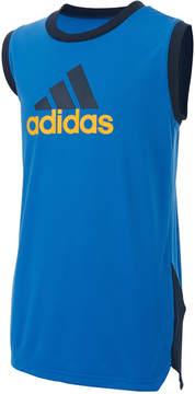 adidas Logo-Print Athletic Tank Top, Big Boys (8-20)