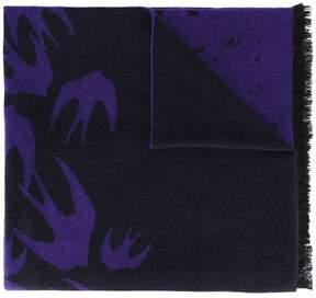 McQ bird print scarf