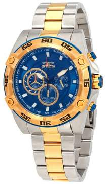 Invicta Speedway Chronograph Blue Dial Men's Watch 25538