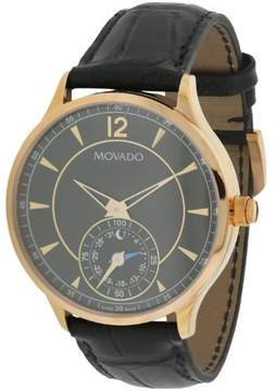Movado Circa Motion Leather Smart Watch Mens Watch 0660009