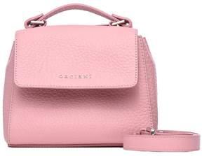 Orciani Pink Soft Mini Sveva Bag With Strap