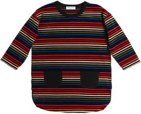 Sonia Rykiel Striped Cotton Chenille Dress