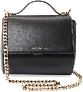 Givenchy Women's Pandora Box Mini Leather Chain Crossbody