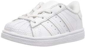adidas BB7080 : Boys' Superstar I Sneaker White/White (6 M US Toddler)