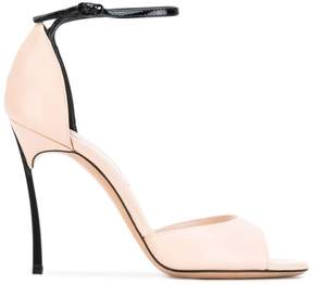 Casadei contrast open-toe sandals