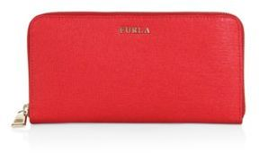 Furla Babylon Leather Clutch