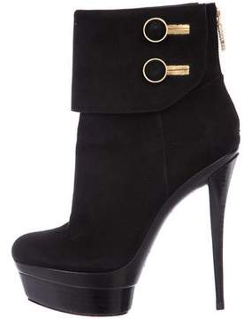 Rachel Zoe Suede Platform Ankle Boots