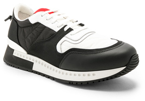 Givenchy Active Runner Sneakers in Black.