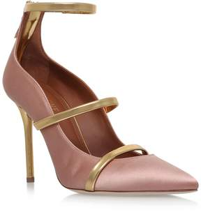 Malone Souliers Satin Robyn Pumps 100