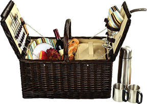 Picnic at Ascot Surrey Picnic Basket for Two with Coffee