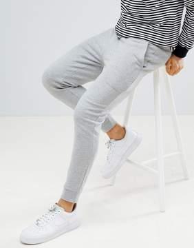 Asos Super Skinny Jogger in Gray Marl