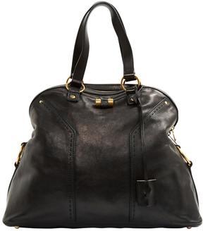 Saint Laurent Muse leather handbag - BLACK - STYLE