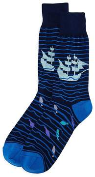 Bloomingdale's The Men's Store at Pirate Ship Socks - 100% Exclusive
