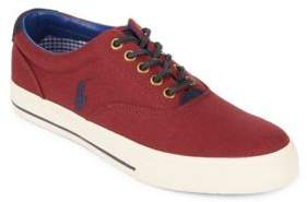 Polo Ralph Lauren Vaughn Low Top Canvas Sneakers