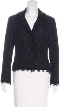 Chanel Fringe Tweed Blazer