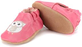 Robeez Baby Girls' Newborn-18 Months Owl Playmates Baby Shoes