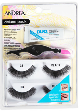 Andrea Deluxe Pack Lashes #33 Black