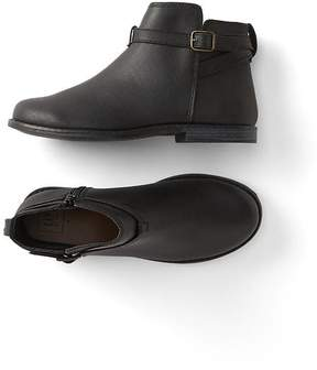 Gap Buckle ankle boots