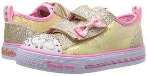 Skechers Twinkle Toes - Shuffles Itsy Bitsy 10764N Lights Girl's Shoes