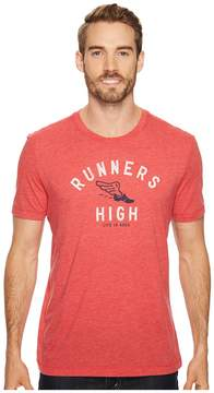 Life is Good Runners High Cool Tee Men's Short Sleeve Pullover