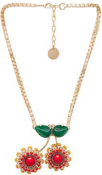 Anton Heunis Cherry Necklace
