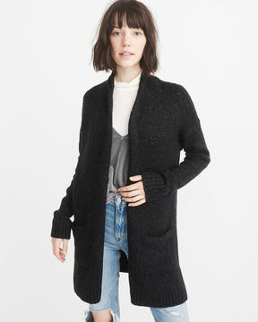 Abercrombie & Fitch Ribbed Duster Cardigan