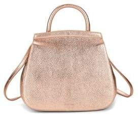 Steven Alan Kate Convertible Metallic Leather Backpack